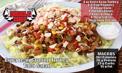 Muscle-Chef-Extra-Lean-Taco-Turkey-Salad