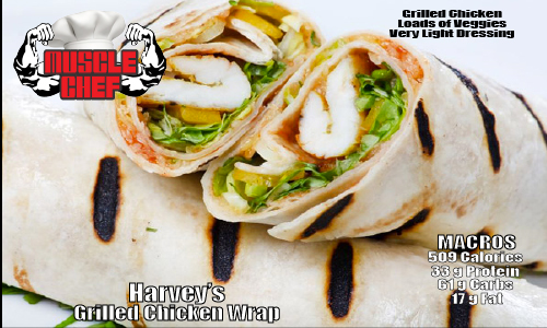 Muscle-Chef-Harveys-Grilled-Chicken-wrap
